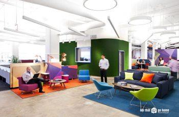 5 xu hướng thiết kế nội thất văn phòng nổi bật năm 2018