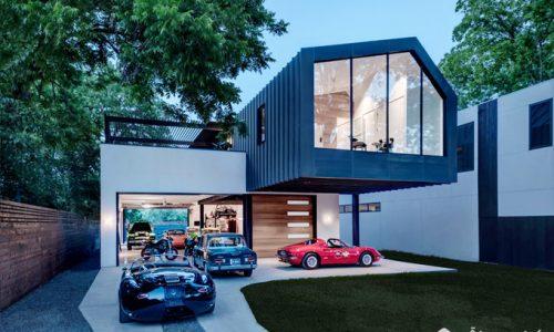 """Kiến trúc ngôi nhà """"dành tất cả thanh xuân"""" để trưng bày xế hộp"""
