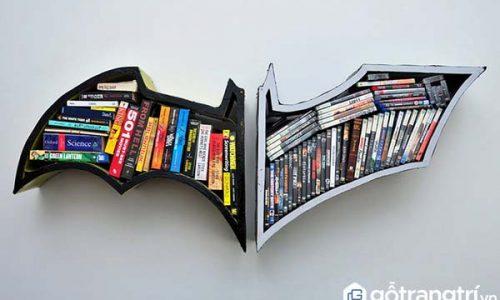 Các mẫu thiết kế kệ sách đẹp và sáng tạo nhất dành cho hội mọt sách