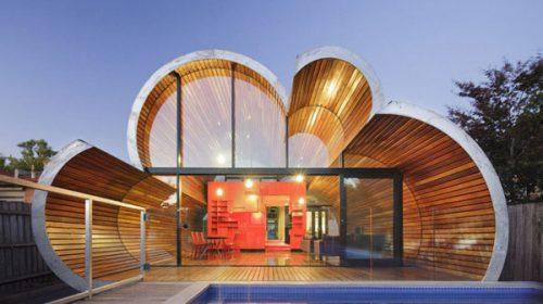 Cloud House – Ngôi nhà hình đám mây đẹp xiêu lòng ở Melbourne