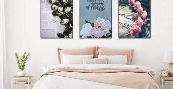 Tranh Canvas - Xu hướng trang trí nhà đẹp mắt và ấn tượng nhất