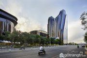 Khám phá kiến trúc độc đáo của tổ hợp công trình Chaoyang Park Plaza