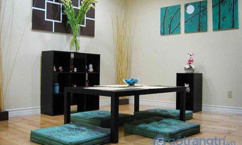 Mê mẩn với những mẫu bàn ăn kiểu Nhật cực xinh và sang trọng