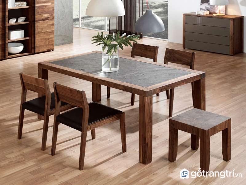 Bàn ăn nên dùng gỗ gì là thắc mắc của nhiều người khi lựa chọn đồ nội thất cho gia đình mình