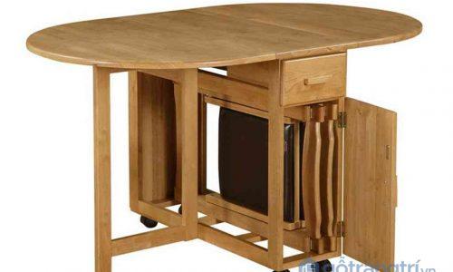 Tham khảo những mẫu bàn ăn thông minh cho nhà nhỏ đáng sở hữu