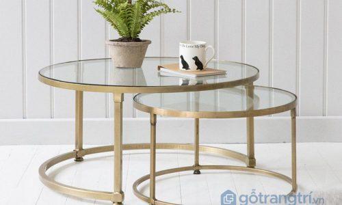 Điểm tên những mẫu bàn sofa tròn phổ biến nhất hiện nay
