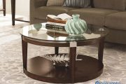 Những mẫu bàn trà mặt kính đẹp, an toàn dành cho phòng khách hiện đại