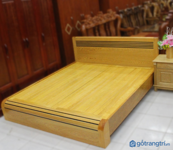Các mẫu giường ngủ bằng gỗ đẹp hiện đại