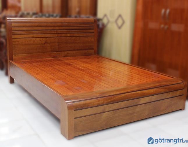 Các mẫu giường ngủ bằng gỗ đẹp sang trọng và tao nhã