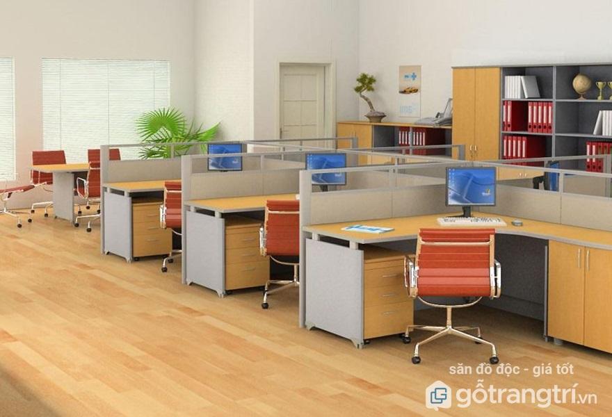 Cách sắp xếp văn phòng làm việc nhỏ theo khoa học