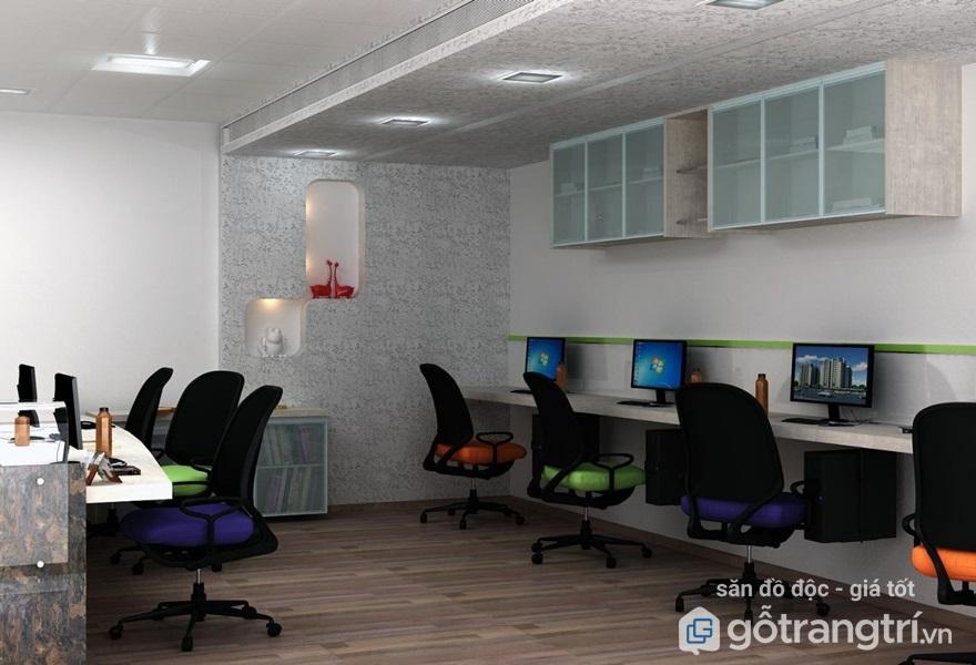 Cách sắp xếp văn phòng làm việc nhỏ độc đáo