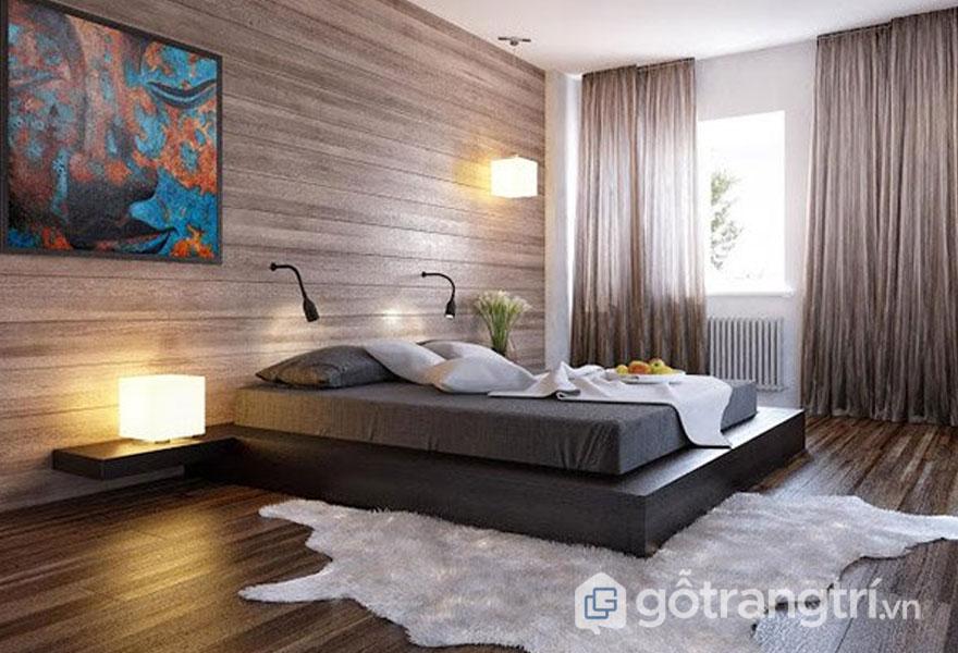 Cách trang trí phòng ngủ không có giường đẹp hoàn hảo