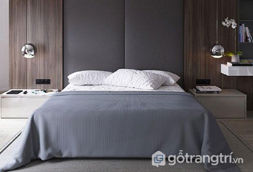 Cách trang trí phòng ngủ không có giường: đồ hanmade