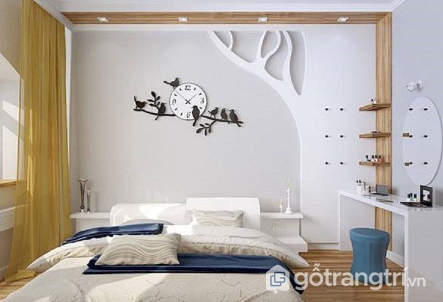 Cách trang trí phòng ngủ đẹp không cần giường
