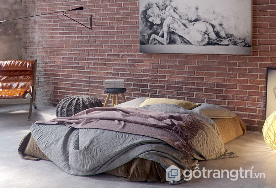 Cách trang trí phòng ngủ không có giường rộng thoáng
