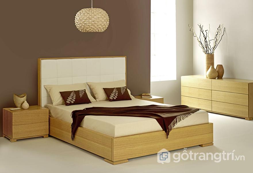 Gỗ công nghiệp có tuổi thọ thấp hơn gỗ tự nhiên - giường ngủ dùng gỗ gì?
