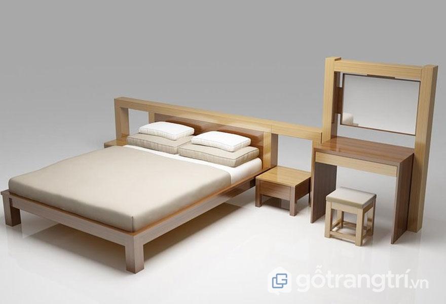 Mẫu giường ngủ giá rẻ 1 triệu đến 5 triệu: Đơn giản nhưng tiện dụng