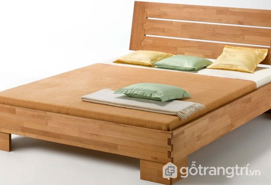Mẫu giường ngủ giá rẻ 1 triệu đến 5 triệu: Gỗ xoan thịt