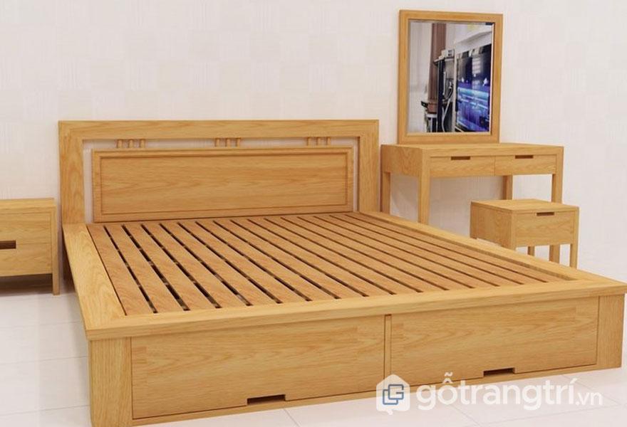 Mẫu giường ngủ giá rẻ 1 triệu đến 5 triệu: Có ngăn kéo