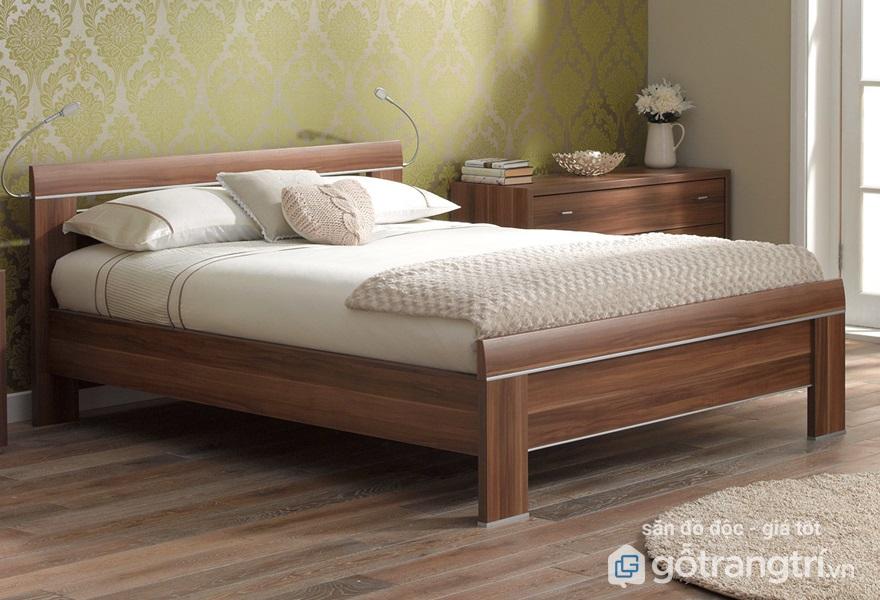 Giường ngủ gỗ sồi có tốt không? - Ảnh giường ngủ gỗ sồi 4