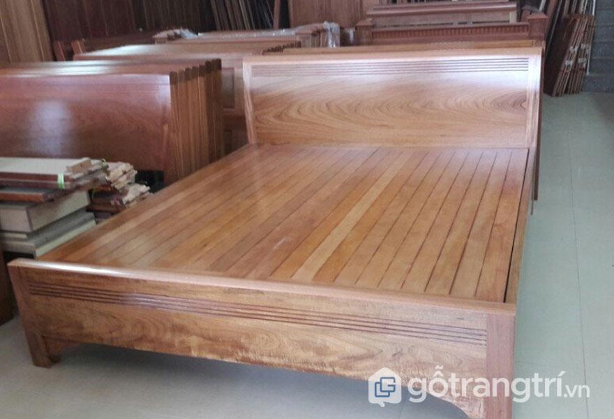 Giường ngủ gỗ xoan đào có tốt không? Không mối mọt