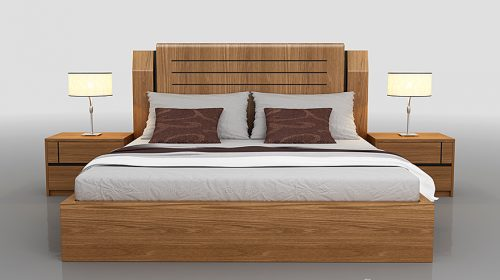 Giường ngủ không chân – mẫu giường hiện đại cho mọi phòng ngủ