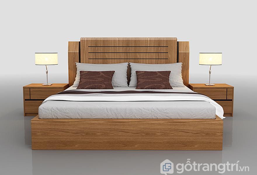 Tính hiện đại và tiện nghi trong thiết kế giường ngủ không chân