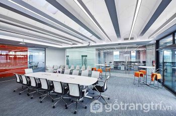 Định nghĩa phong cách Hitech trong thiết kế nội thất văn phòng