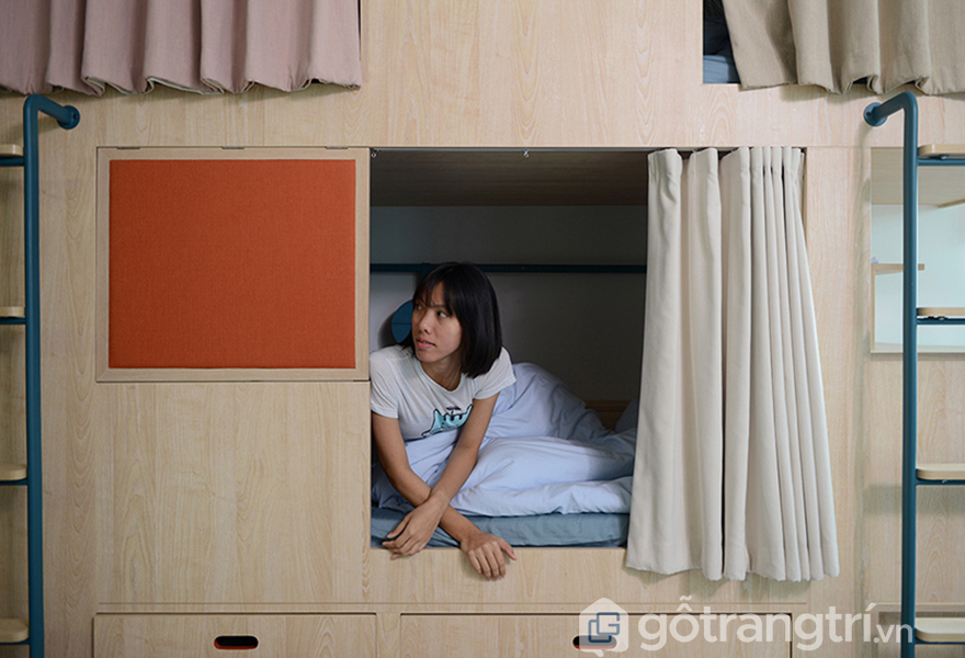Khu vực phòng ngủ của mỗi người