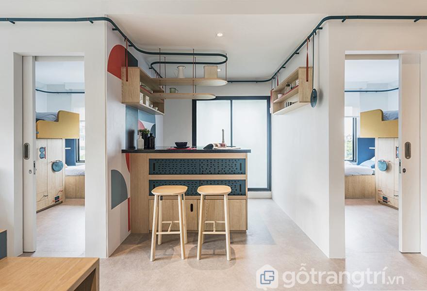 Thiết kế căn bếp hiện đại
