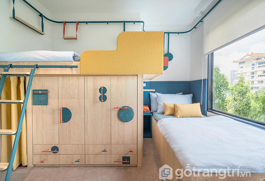 Phòng ngủ riêng tư tuyệt đối