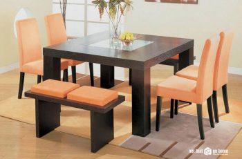 Kích thước tiêu chuẩn của bàn ăn 6 người là bao nhiêu?