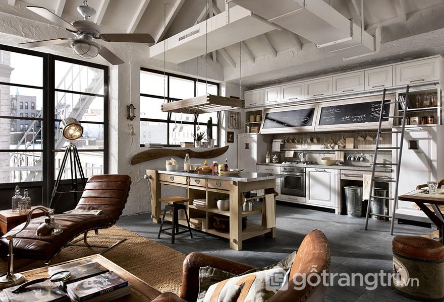 Sự không hoàn hảo lại tạo nên nét quyến rũ cho căn hộ