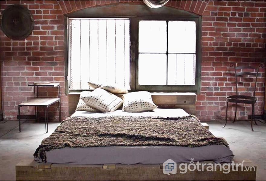 Thiết kế phòng ngủ đơn giản nhưng ấn tượng