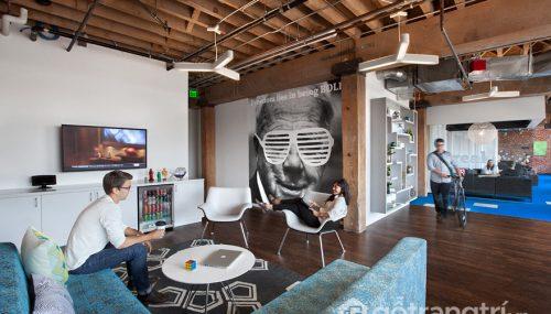 Khám phá không gian văn phòng của công ty Adobe tại San Francisco