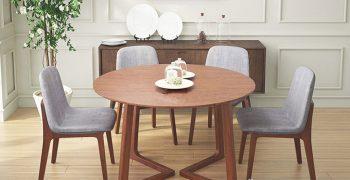 Kích thước bàn ăn 4 người chuẩn nhất hiện nay là bao nhiêu?