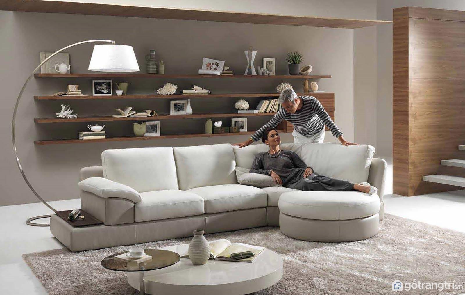 Kích thước bàn sofa phụ thuộc vào diện tích căn phòng