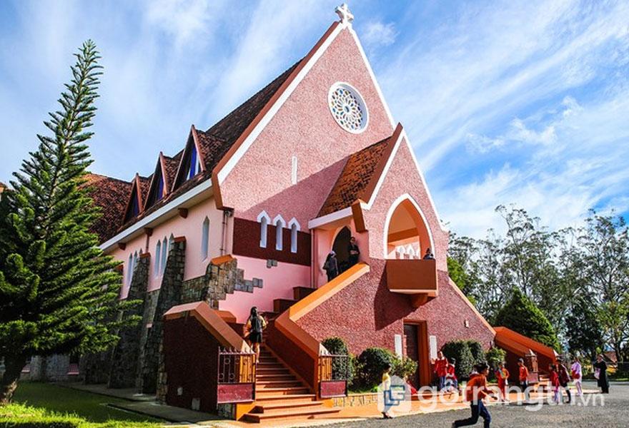 Kiến trúc độc đáo của nhà thờ Domaine de Marie, Đà Lạt - Ảnh sưu tầm