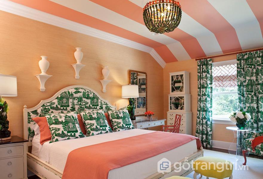 Làm ấm không gian bằng màu hồng san hô