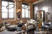 Khám phá nét đẹp văn hóa trong thiết kế nội thất phòng khách phong cách Industrial