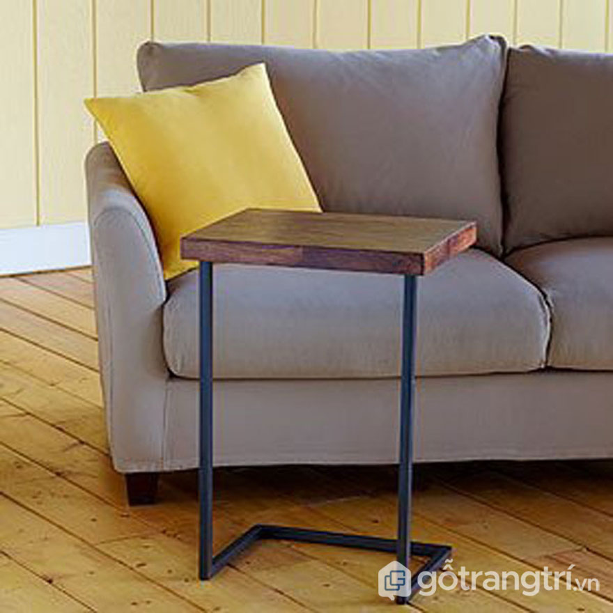Mẫu bàn làm việc đẹp: Bàn có thiết kế tối giản