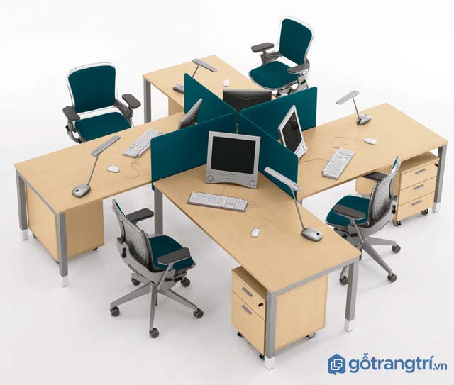 Mẫu bàn làm việc hiện đại được ưa chuộng nhất