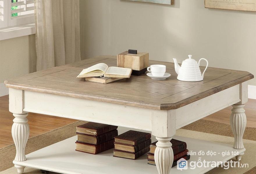 Những mẫu bàn trà gỗ đẹp nhất 2018