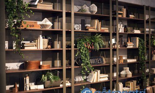 5 mẫu giá sách sáng tạo vừa giúp để sách vừa là điểm nhấn trang trí nhà