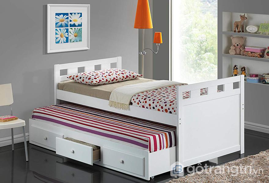 Những mẫu giường ngủ có ngăn kéo có tính tiện nghi cao