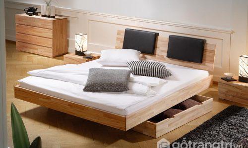 Vì sao những mẫu giường ngủ đẹp có ngăn kéo được ưa chuộng hiện nay?
