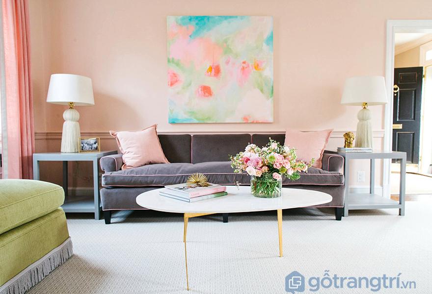 Sự hài hòa về màu sắc trong không gian căn hộ