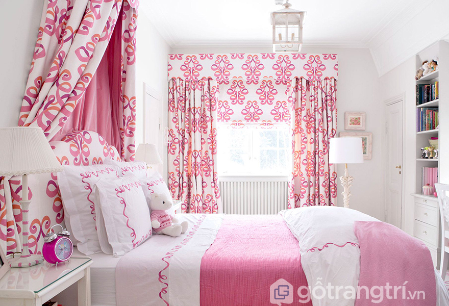 Chất liệu vải mềm mại có màu hồng rose quartz