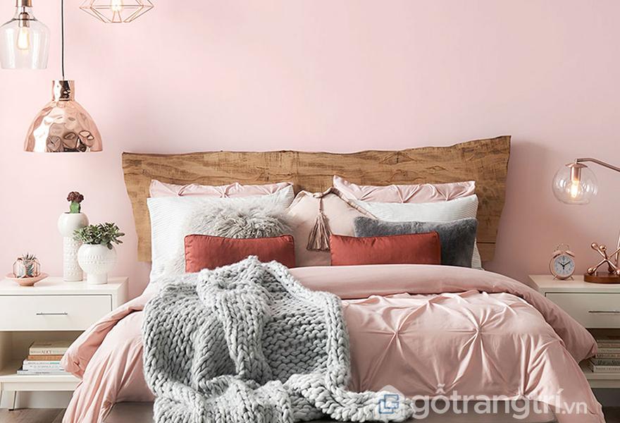 Nét tinh tế và lãng mạn trong thiết kế phòng ngủ