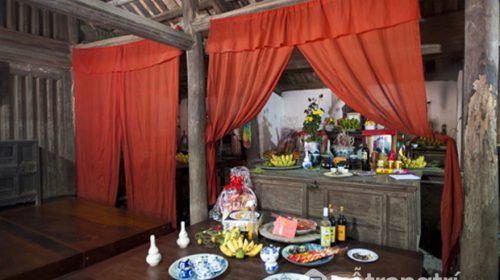 Ngắm nhìn vẻ đẹp của ngôi nhà 300 năm ở làng cổ Đường Lâm